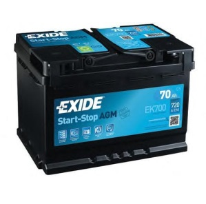 Аккумулятор Exide EK700 AGM 70A/h 760A