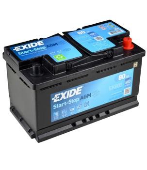 Аккумулятор Exide EK800 AGM 80A/h 800A