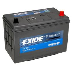 Exide EA1004 100A/h 850A