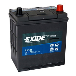 Exide EA386 38A/h 300A