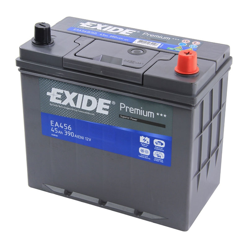 АКБ Exide EA456 45A/h 390A