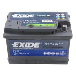 Exide EA722 72A/h 720A