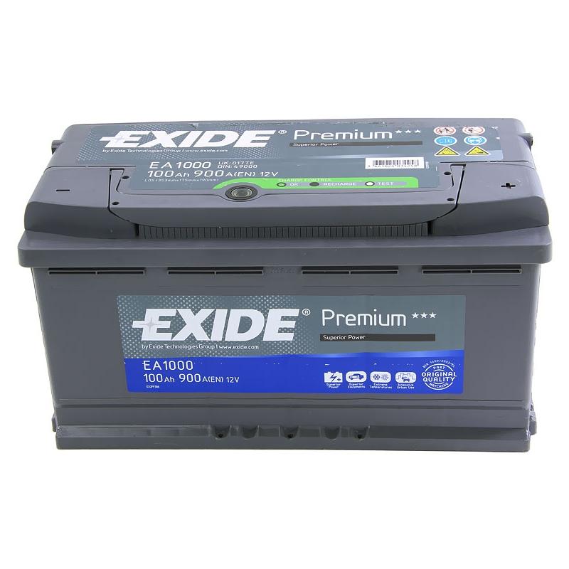АКБ Exide EA1000 100A/h 900A