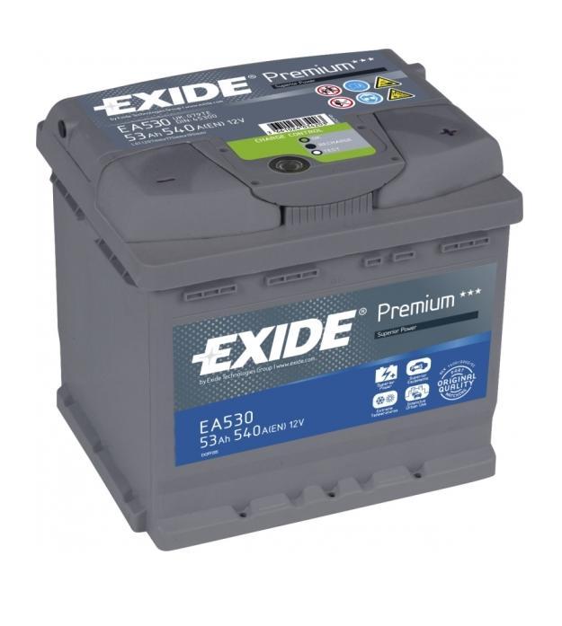 ��� Exide EA530 53A/h 540A