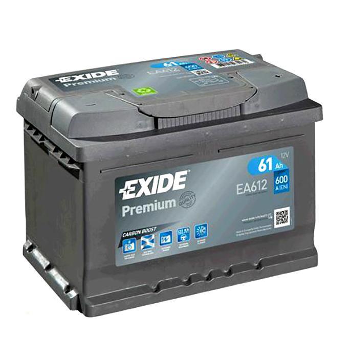 АКБ Exide EA602 60A/h 600A