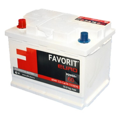 Favorit 6CT-60 A3R 60A/h 480A