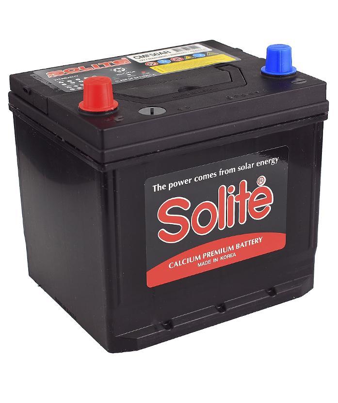 Аккумулятор Solite 65B24R 50A/h 470A