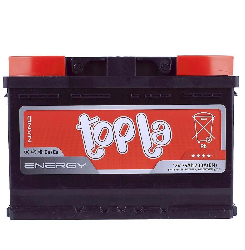 Аккумулятор Topla 108175 75A/h 700A
