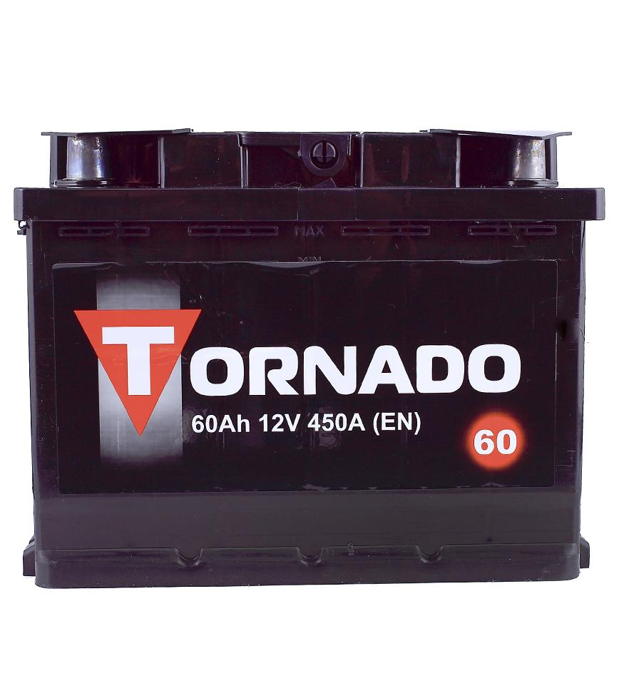 Аккумулятор Tornado 6CT-60 60A/h 480A