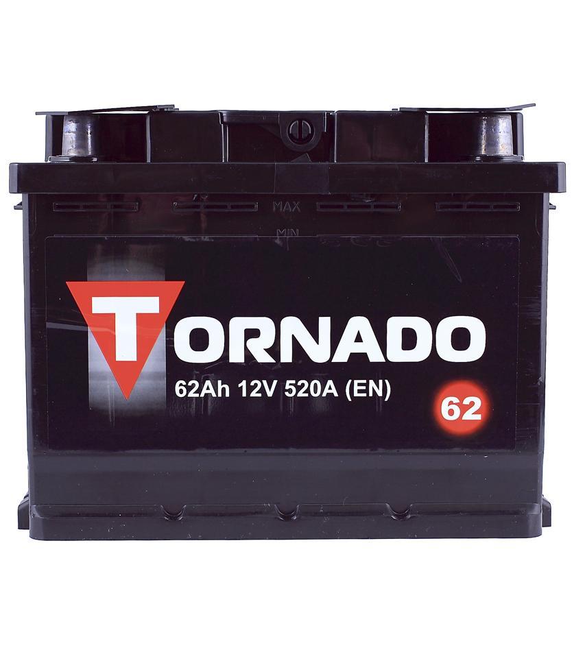 АКБ Tornado 6CT-62 62A/h 500A