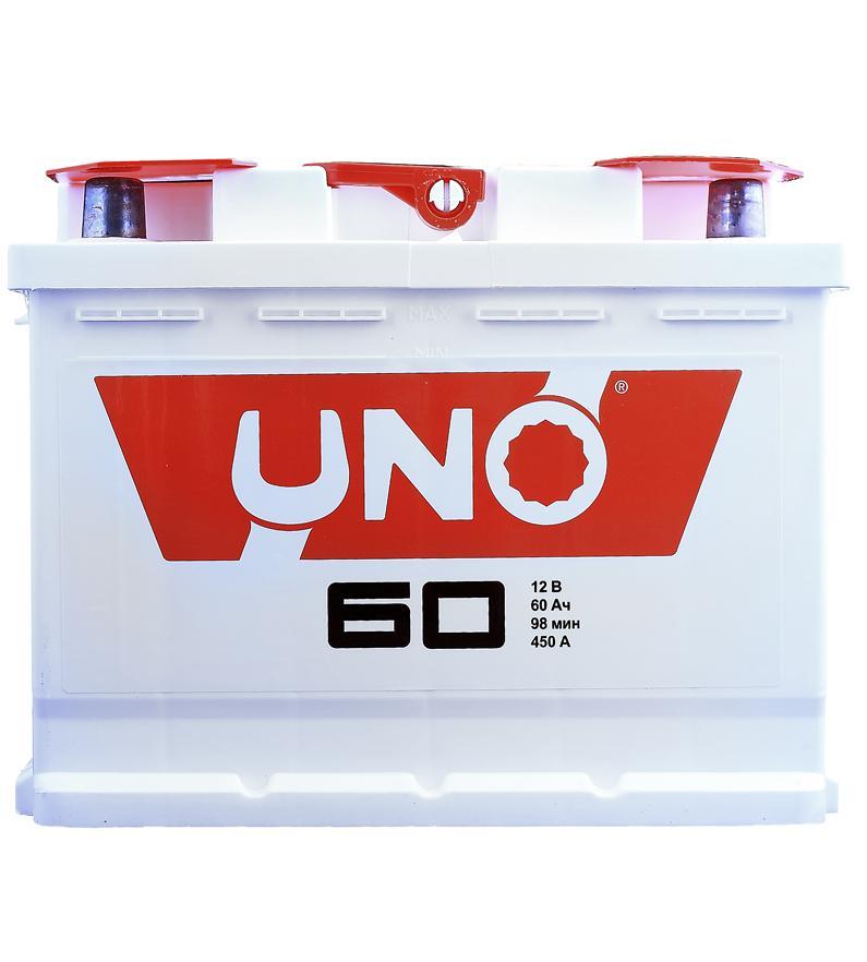 АКБ Uno 6CT-60 60A/h 430A