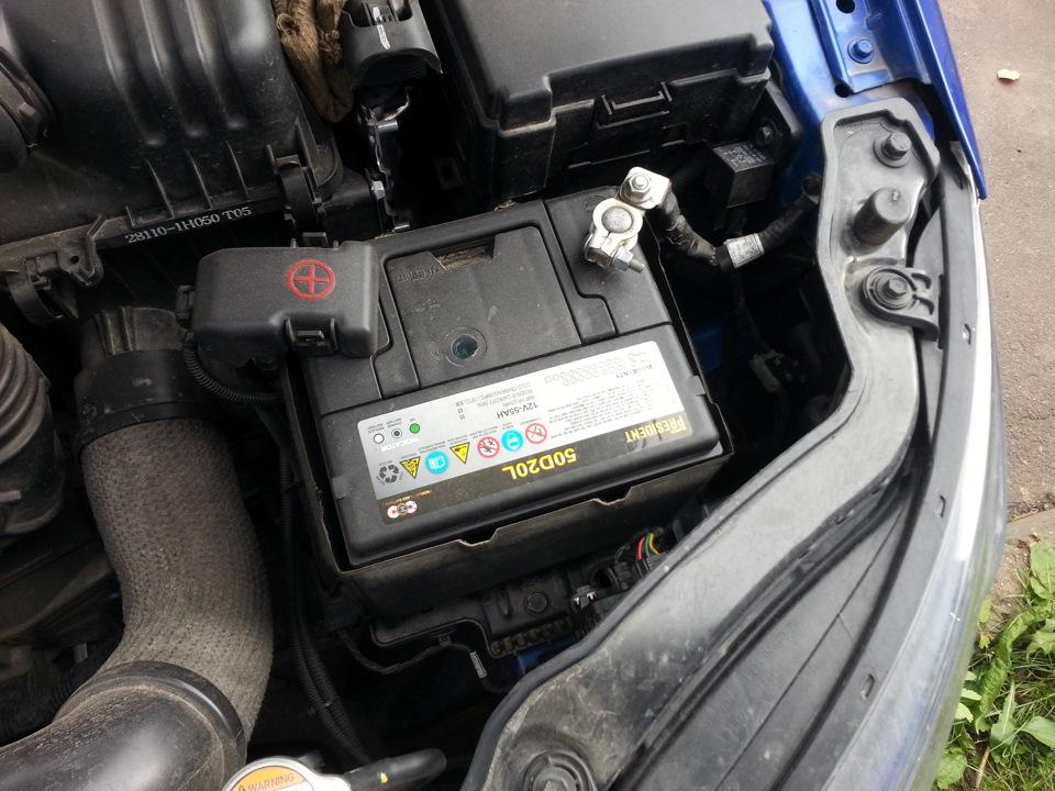 аккумулятор ситроен c-crosser