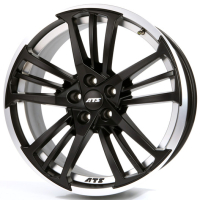 ATS Prazision Racing Black Double lip polished 8.5x19 5x108, ET45, ЦО70.1