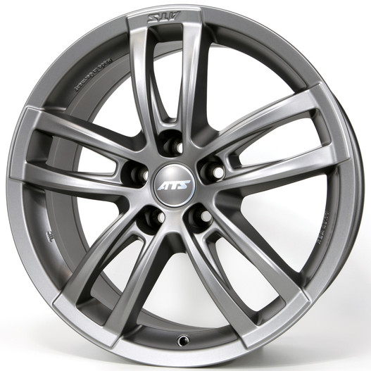 Диски ATS Radial Racing Grey 7.5x17 PCD 5x114,3 ET 40 ЦО 70.1
