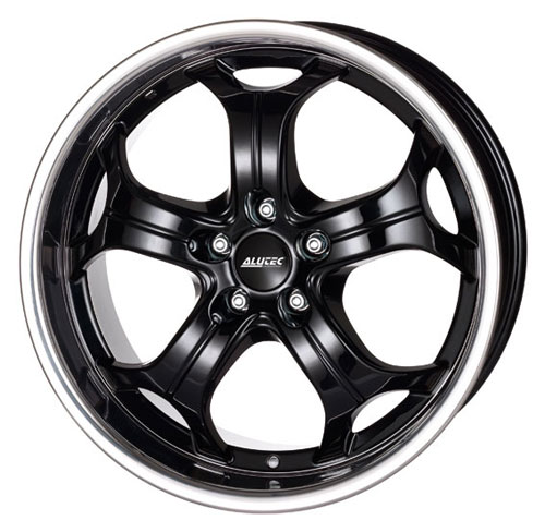 Диски Alutec Boost Diamond Black with Stainless Ste 9x20 PCD 5x120 ET 15 ЦО 76.1