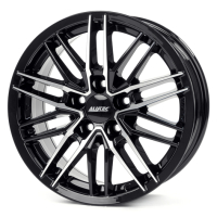 Alutec Burnside diamond black front polished 6.0x15 5x114,3, ET45, ЦО70.1