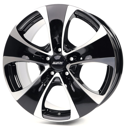 Диски Alutec Dynamite 5 diamond black front polished 8.5x18 PCD 5x112 ET 51 ЦО 66.5