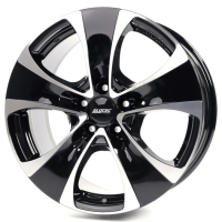 Alutec Dynamite 5 diamond black front polished 8.5x18 5x112, ET51, ЦО66.5