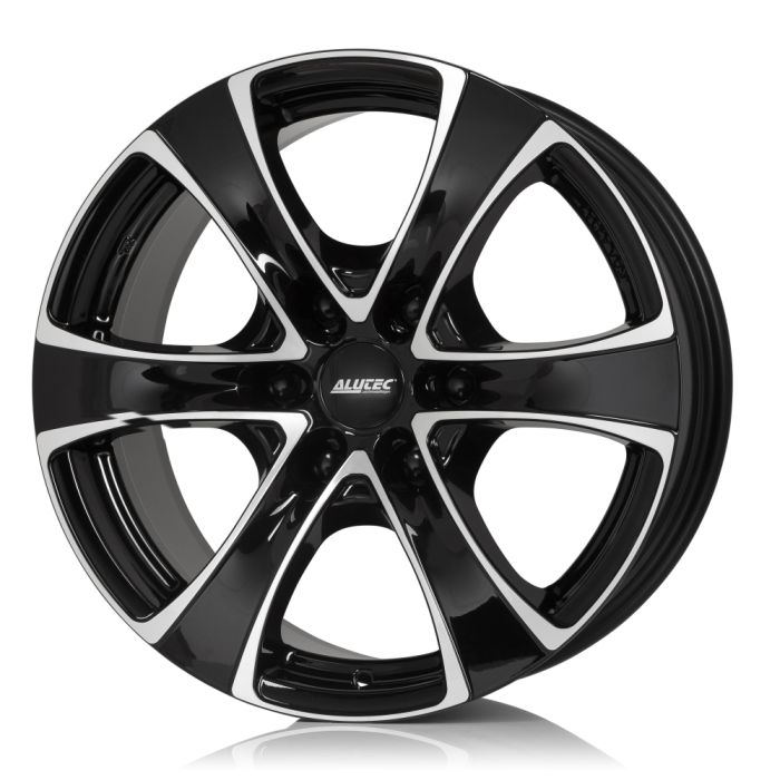 Диски Alutec Dynamite 6 diamond black front polished 8.5x18 PCD 6x139,7 ET 20 ЦО 106.1