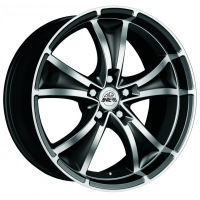 Antera 383 Diamont Black Front Polished 8.0x18 5x112, ET48, ЦО75.0