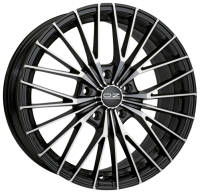 OZ Racing Ego MATT BLACK DIAMOND CUT 8.5x19 5x108, ET45, ЦО75.0