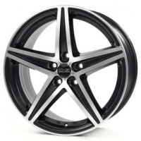 OZ Racing Energy MATT BLACK DIAMOND CUT 8.0x18 5x112, ET48, ЦО75.0
