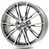OZ Racing Envy MATT SILVER TECH DIAMOND CUT 7.5x16 5x114,3, ET45, ЦО75.0