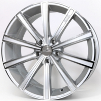 OZ Racing Lounge 10 Metal Silver Diamond Cut 7.0x16 5x114,3, ET45, ЦО75.0