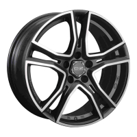 OZ Racing Adrenalina MATT BLACK DIAMOND CUT 7.5x16 5x112, ET48, ЦО75.0