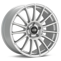 OZ Racing SuperTurismo DAKAR MATT RACE SILVER BLACK LETTERING 8.5x20 5x108, ET40, ЦО75.0