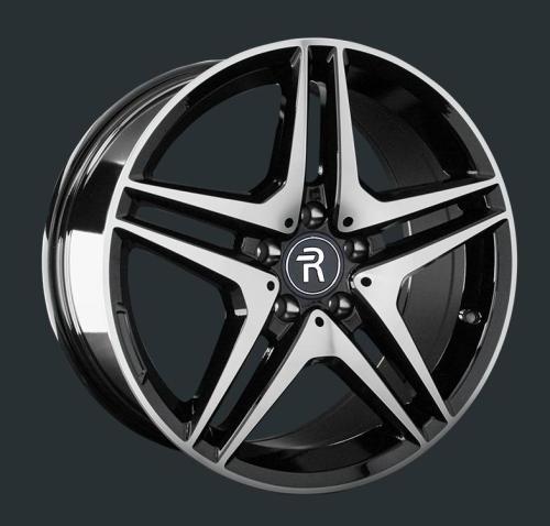 Диски Replay Replica Mercedes MR96 BKF 8.5x19 PCD 5x112 ET 43 ЦО 66.6