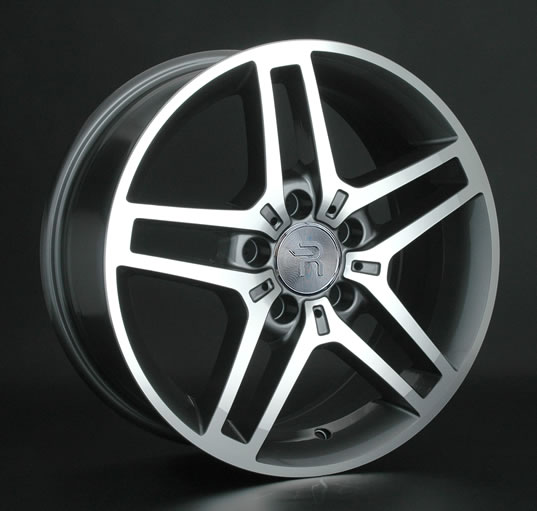 Диски Replay Replica Mercedes MR117 GMF 8.5x19 PCD 5x112 ET 59 ЦО 66.6