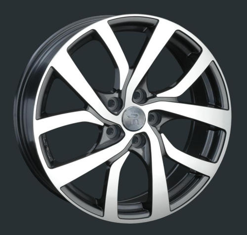 Диски Replay Replica Peugeot PG38 GMF 6.5x17 PCD 5x114,3 ET 38 ЦО 67.1