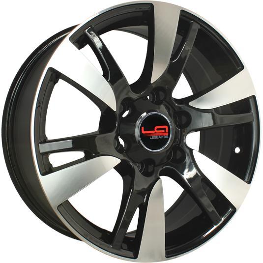 Диски LegeArtis Replica Toyota TY76 BKF 7.5x18 PCD 6x139,7 ET 25 ЦО 106.1