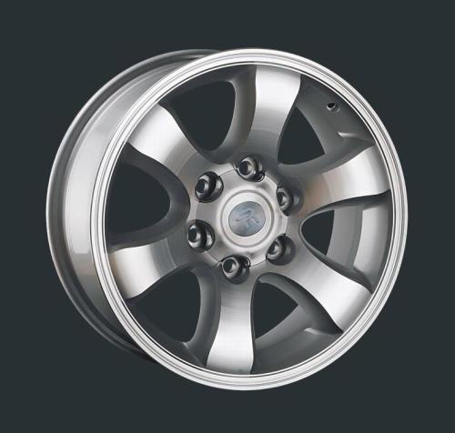 Диски Replay Replica Toyota TY2 SF 7.5x17 PCD 6x139,7 ET 25 ЦО 106.1