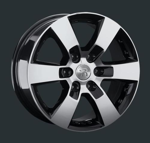 Диски Replay Replica Toyota TY83 BKF 7.5x17 PCD 6x139,7 ET 25 ЦО 106.1